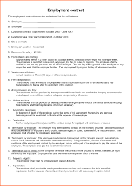 Basic Agreement Basic Employment Contract C24ualwork24org 16