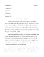 discourse community essay hannah pritchard pritchard english  2 pages hp de essay 2