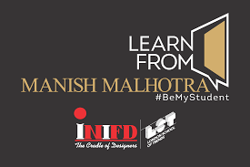 Manish Malhotra Fashion Designing Course Learn From The Master Himself Manishmalhotra At Inifd