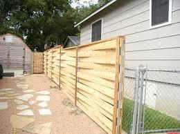 horizontal wood fence diy. Traditional Backyard Design With Popular DIY Horizontal Wood Fence, Natural Cedar Material, Fence Diy A