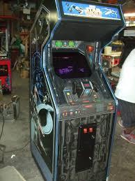 Star Wars Cabinet 342 Atari Star Wars Arcade Video Game Last Major Color Vector
