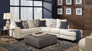 Shop Now. Deca Drive Cream 4 Pc Sectional Living Room