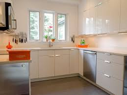 Orange And White Kitchen 20s Cottage Kitchen Reno Rachael Franceschina Hgtv