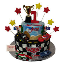 1072 Disneys Cars Movie Themed Birthday Cake Abc Cake Shop Bakery