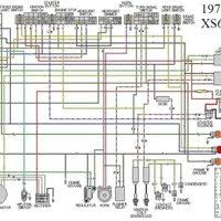 yamaha xs650 wiring schematic wiring diagram yamaha xj550 wiring diagram diagrams and schematics 1979 xs650