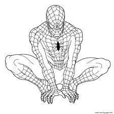 Marvel The Spectacular Spider Man Coloring Pages - Kids Coloring