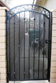 Gate And Fence Metal Fence Gate Door Automatic Driveway Gates Metal