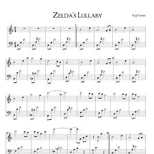 legend of zelda piano sheet music zeldas lullaby legend of zelda ocarina of time piano sheet pdf
