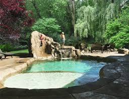Backyard Designs With Pool Impressive Seattle Custom Pool Construction Seattle Pool Design Service