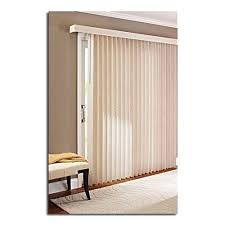 vertical blinds for patio door. Delighful Vertical 78 X 84 Light Control Durable PVC Vertical Textured SSlat Privacy Blinds  Beige Inside Blinds For Patio Door I