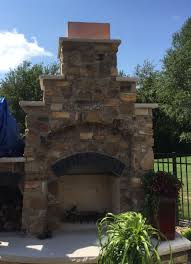 copper chimney cap for outdoor fireplace