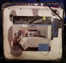 sealed cuddl duds polar bears heavyweight flannel comforter set gray red plaid 400700836204
