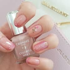 ピンク ラメ ネイル シンプル