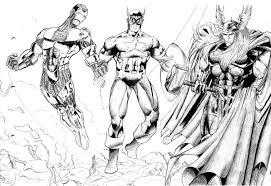 Avengers Immagini Da Colorare