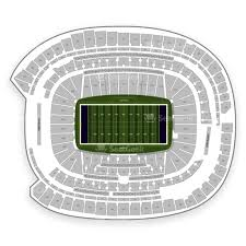 U2 Us Bank Stadium Seating Chart Minnesota Vikings Seating Chart Map Seatgeek