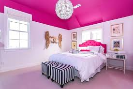 Pink And White Bedroom A Shabby Chic Glam Girls Bedroom Design Idea ...