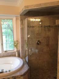 bathroom remodel tile shower. Upscale Bath Remodel Charlotte Bathroom Tile Shower
