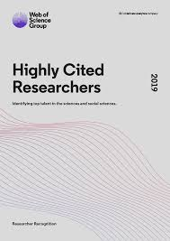 Executive Summary Highly Cited Researchers 2019 Executive Summary Web Of
