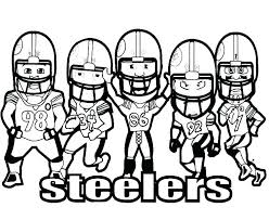 nfl football coloring picture galleryfree nfl coloring