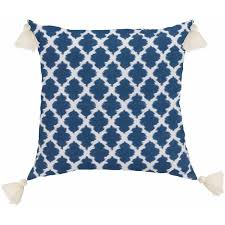 Blue Patterned Pillows