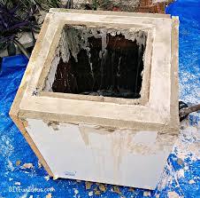 drop dead gorgeous diy concrete planter