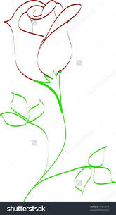 Small Picture Best 25 Rose drawing simple ideas only on Pinterest Rose