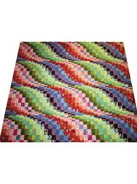 3d Quilt Patterns Interesting Pieced Bed Quilt Patterns Tumbling Waves Quilt Pattern