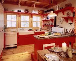 red country kitchens. Plain Country Kitchen Fine Red Country Decorating Ideas 1  With Kitchens T