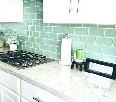 Backsplash Lighting Fascinating Green Backsplash Tile Qualitymatters