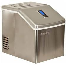 edgestar ip211 11 wide 2 2 lbs capacity portable ice maker