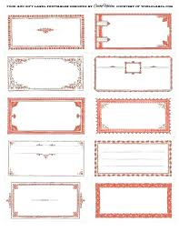 Blank Labels Template Peam Me