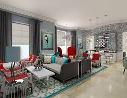Red And Turquoise Living Room Red And Brown Living Room Ideas Green Candles Sloping Ceiling