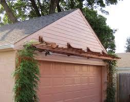 garage door arborGarage Pergola Nos GP1GP4  by Trellis Structures