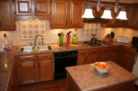 show me cabinets. Plain Cabinets Oak Kitchen Cabinets With Countertop And Back Splash  Show Me Your  Nongranite Countertops Oak  Kitchens  On Me Cabinets I