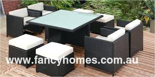 space saving patio furniture. 8 Seat Patio Dining Set Popular Space Saving Outdoor Furniture Round