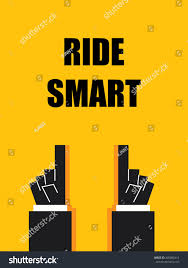 Smart Signs And Designs Ride Smart Signs Symbols Stock Vector Royalty Free 405882412