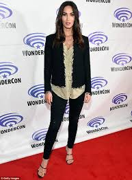 slender star megan fox revealed at wondercon on friday that she was 107lbs while filming