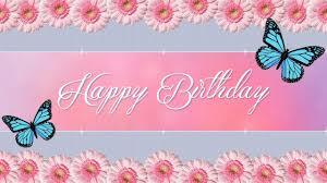 Cute Happy Birthday Ecard 2 Youtube