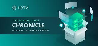 Iota Design Introducing Chronicle A Permanode Solution Iota