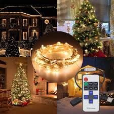 popular christmas light wire buy cheap christmas light wire lots 10m 33ft 100led usb 5v led string christmas light copper wire rf wireless led lights garlands