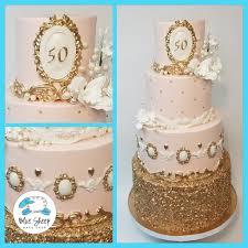 Kates Royal 50th Birthday Cake Nj Blue Sheep Bake Shop