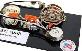 5 way super switch wiring hss 5 image wiring diagram 920d custom shop suhr hss wiring harness w 5 way super switch on 5 way super
