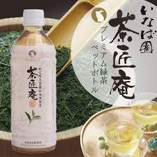 茶匠庵 premium green tea plastic bottle 500 ml 24 motoiri tea bottle first tea