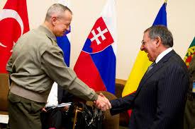u s department of defense photo essay u s defense secretary leon e panetta greets u s marine corps gen john r
