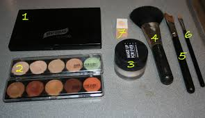 makeup forever 5 camouflage cream palette photo 3
