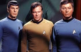Mister Spock Captain Kirk Doctor McCoy