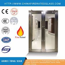 china internal fire doors with glass panels china fire rated glass doors fire rated doors with glass