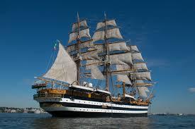 La nave scuola Amerigo Vespucci torna a navigare: partita la campagna  addestrativa 2020 - Liguria Nautica