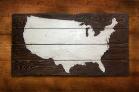 map of decor usa map wall art awesome design collection for your best decoration