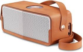 LG P5 Leather MUSICflow Bluetooth speaker with carry strap - Leather :  Amazon.co.uk: Electronics & Photo